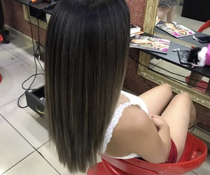 hair, love, and girl image