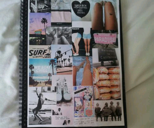 tumblr, book, and notebook image