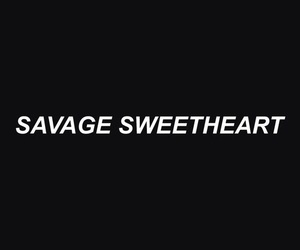 heart, savage, and sweet image