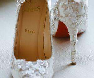 fashion, paris, and wedding image