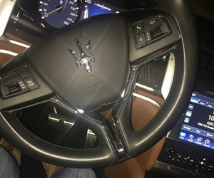 car, luxury, and maserati image
