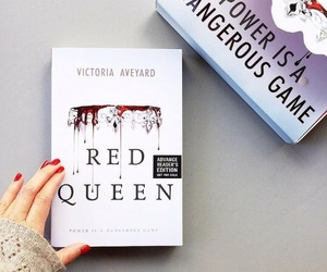 Queen, red, and red queen image