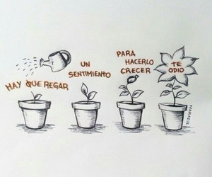 amor, frases, and dibujo image