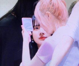 hyunjung, soobin, and cosmic girls image
