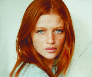 girl, redhead, and pretty image