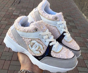 chanel and sneakers image