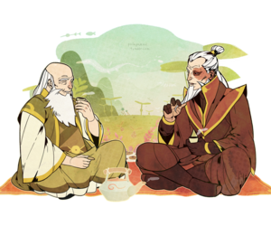 avatar, zuko, and iroh image
