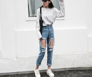 fashion, girls, and school image