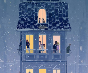 art, pascal campion, and snow image