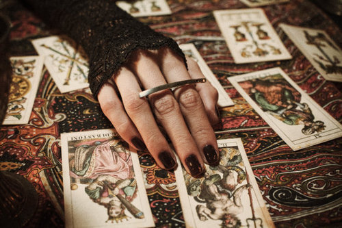 tarot, cards, and witch image