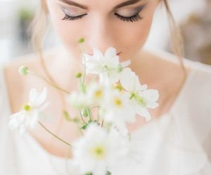 bouquet, dress, and fashion image