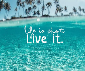 life, summer, and beach image