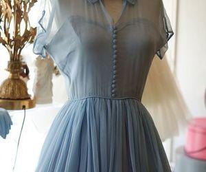 dress, vintage, and beautiful image
