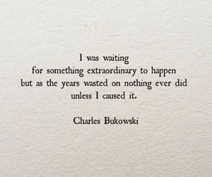 Bukowski, charles bukowski, and quote image