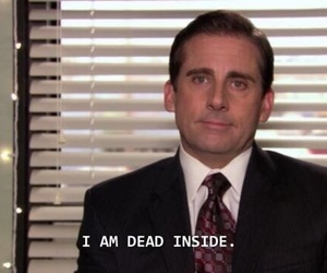 the office, quotes, and dead image