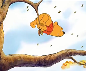 animation, Pooh bear, and classic image