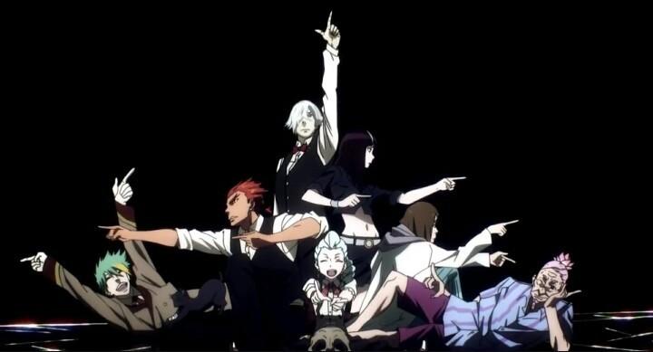 death parade, anime, and decim image