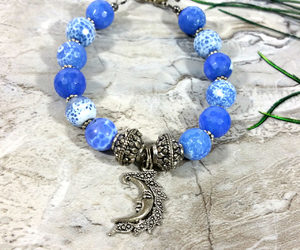 etsy, yoga bracelet, and healing jewelry image