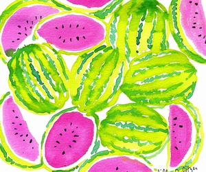 watermelon, fruit, and background image