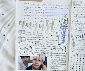 inspiration, journal, and kpop image