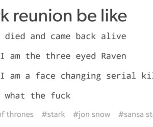 funny, stark, and got image