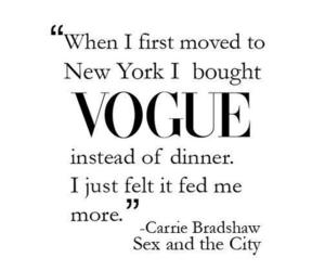 vogue, quote, and fashion image