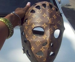 Louis Vuitton and mask image
