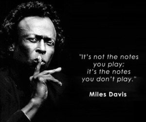 life, miles davis, and quotes image