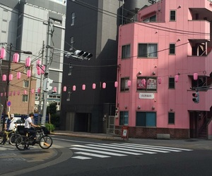 pink, aesthetic, and street image