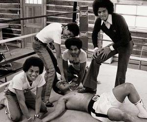 ali, boxing, and michael jackson image
