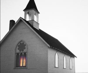 church, creepy, and god image
