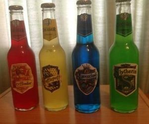 drink, harry potter, and slytherin image