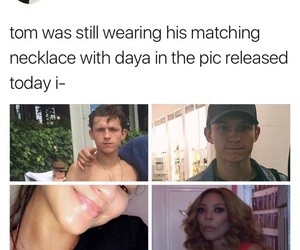zendaya, tom holland, and tomdaya image