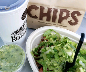 chipotle, food, and mexican image