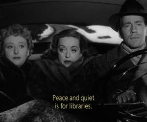 Bette Davis, peace, and quiet image