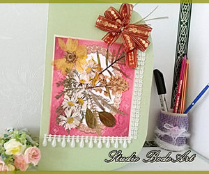 etsy, handmade card, and floral illustration image