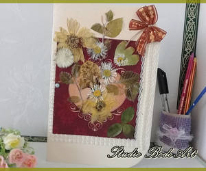 etsy, birthday cards, and real flowers image