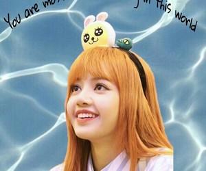 background, k-pop, and lisa image