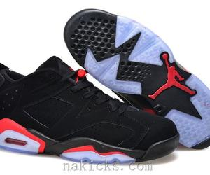girls, shoes, and air jordan 6 gs shoes image