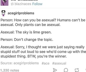 acceptance, lgbt, and asexual image