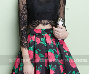 lace homecoming dresses and black homecoming dresses image