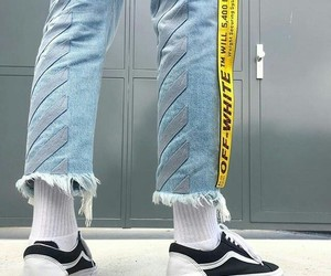 fashion, street style, and vans image