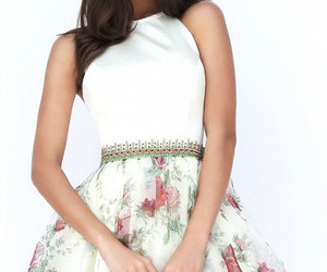 2017 short prom dresses and print homecoming dresses image