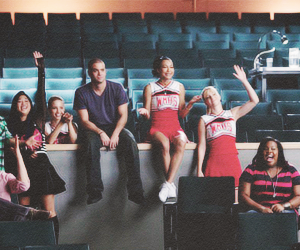 glee, leamichele, and finnhudson image