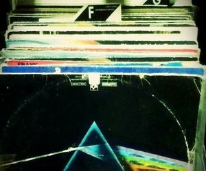 albums, dark side of the moon, and Pink Floyd image