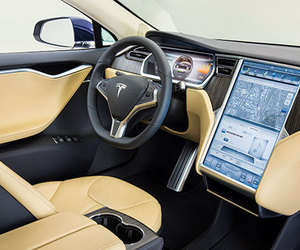 interior and Tesla image