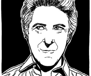 caricature, portrait, and portret image