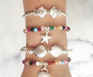 bracelets, seashells, and jewelry image