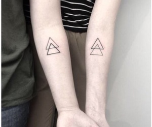 Tattoos and matching tattoos image