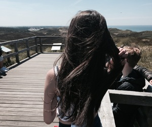 girl, hair, and vacation image